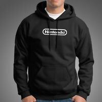 Nintendo Logo Men's Black Hoodie