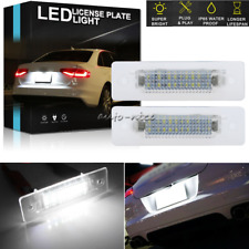 2pc LED License Plate Lights For Porsche 911 Carrera 964 968 986 993 996 Boxster