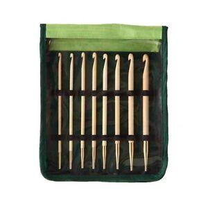 KnitPro Bamboo Afgano- Tunesisches Gancho de Ganchillo Set Art 22550 Agujas