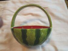 Watermelon Decorative Fruit Salad Collection-Candy Bowl w/ Handle