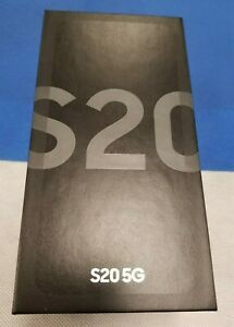 NEW IN BOX Samsung Galaxy S20 5G SM-G981U -128GB/12GB RAM - Pick carrier & color