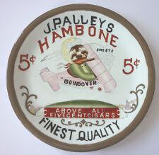 Porzellanteller, J.P. Alleys Hambone Cigars 5 Cents 1911              (Art.2904)
