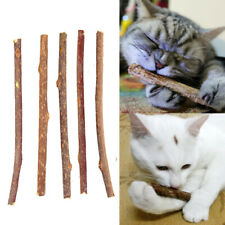 New listing 5pcs Pure Natural Cat Toy Molar Toothpaste Branch Cleaning Teeth