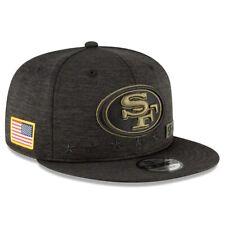 2020 San Francisco 49ers New Era 9FIFTY Snapback NFL Salute To Service Hat Cap