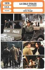 FICHE CINEMA : LA CIBLE ETOILEE - Cassavetes,Loren,McGoohan 1978 - Brass Target