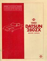 280ZX 1980 DATSUN NISSAN SHOP MANUAL SERVICE REPAIR BOOK