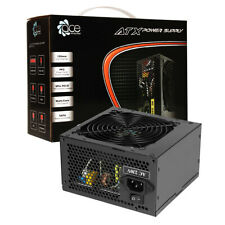 ACE Black 750W PC Power Supply Unit Quiet 120mm Fan PSU ATX 6-Pin PCI-E SATA