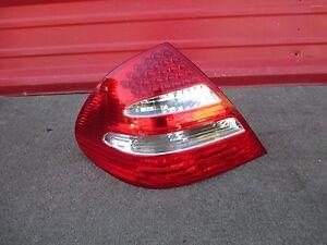 03 04 05 06 Mercedes E500 E55 LED Tail Light Tail Lamp Rear LH Driver Side OEM