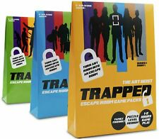 Trapped The Bank Job, Art Heist, Escape Room Game Pack Family Friendly Puzzle