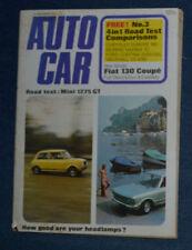 September Autocar Magazines