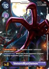 Digimon Card Game VenomMyotismon BT2-079 Rare