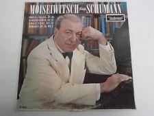 Benno Moiseiwitsch Plays Schumann - Universal Record Club LP