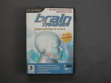 PC CD-ROM BRAIN TRAINER JUEGA A ENTRENAR TU CEREBRO Incluye SUDOKUS