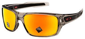 Oakley Turbine Sunglasses OO9263-5763 Grey Ink | Prizm Ruby Polarized Lens