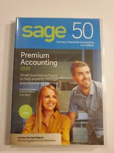 Sage 50 Premium Accounting 2020 for Windows