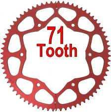 71T Tooth #35 Chain Split Sprocket Two 2 Piece Gear Drift Trike Go Kart Racing