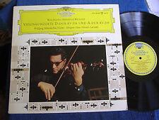 Wolfgang Schneiderhan/Mozart Violin Concertos/DGG LPM 18 678/Mono LP/EX+ to M-