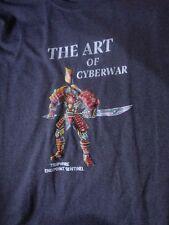Rare Tripwire Art of Cyberwar T-Sghirt, Size Large, Nice Shape!