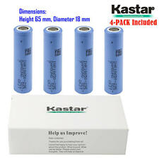 Kastar 18650 Battery Charger Samsung 29E High Capacity Flat Top 3,6V 2900mAh