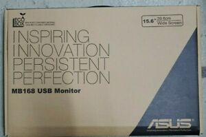 ASUS MB MB168 15.6 inch Widescreen LED LCD Monitor
