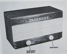 1947 GAROD 6A-2 radio service manual PHOTOFACT SCHEMATIC