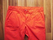 @ ESPRIT @ Hose Stoff Frauen Chino orange Gr. 38 Size M L29 UK12 US 8