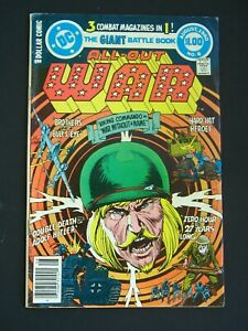 All Out War #6 VG/F 1980 Low Grade DC Comic