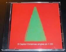 """9 CAPITOL CHRISTMAS SINGLES ON 1 CD"" Payne/Freebish/Correia/Maclean/Smithereens"