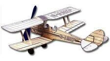 Tiger Moth: West Wings Rubber Powered Balsa Wood Model Plane Kit WW415