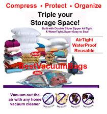 "8 Pcs MixSize 27"" X 39"" Vacuum Space Bags Saving Storage"