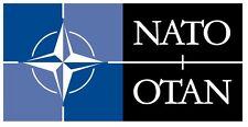 Bandiera -NATO -Stickers - Adesivo-Decorazione auto moto casa veicoli in genere