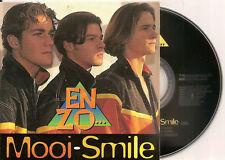 ENZO - mooi / smile CD SINGLE Eurodance 1996 RARE!!