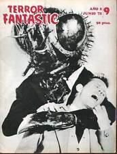 REVUE  EN ESPAGNOL:TERROR FANTASTIC 9. JUNIO 1972.