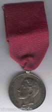 España Medalla Militar Distincion conmemorativa a la mayoria de edad Plata 784 A