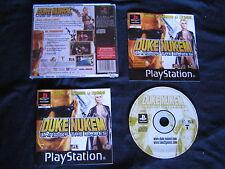 JEU Sony PLAYSTATION PS1 PS2: DUKE NUKEM Land Of The Babes (COMPLET envoi suivi)