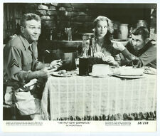 TAINA ELG, GLENN FORD, RED BUTTONS original movie photo 1958 IMITATION GENERAL