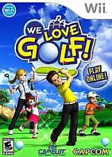 We Love Golf WII! NEW! FORE, FAMILY PARTY GAME NIGHT! HOT SHOTS, FUN COURSES