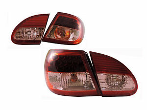 DHL -New LED Tail Lights Rear Lamps Red For Toyota Corolla S CE LE XRS 2003-2007