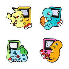 Student Cartoon Brooch Game Machine Enamel Lapel Pins Backpack Badge Cute Anime