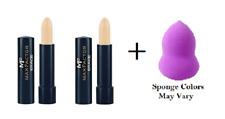 Max Factor Erace Concealer 4.2g, #07 Ivory (2 Pack) + Makeup Sponge
