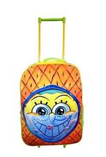 Official Spongebob Squarepants Wheeled Travel Luggage Cabin Trolley Bag