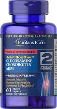 Puritans Pride Triple Strength Glucosamine, Chondroitin & MSM x 60 UK SELLER