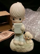 1978 Precious Moments 'God Understands' Figurine Boy with Report Card E-1379/B