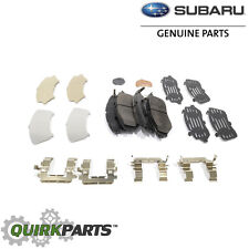 NEW 2006-2014 Subaru Front Disk Brake Pads Kit Legacy Forester OEM 26296AJ010