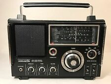 Vintage Worldstar MG-6600 Multi-Band Radio With Cassette Player Boombox