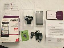 Jitterbug Smart2 phone for Seniors & Motorola H505Z Bluetooth Headset Used