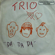 "7"" NDW FRENCH PRESS SUNG ENGLISH VG+ ! TRIO : Da Da Da"