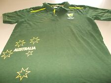 CRICKET AUSTRALIA OFFICIAL POLO SHIRT - LARGE - SEE DESC FOR SIZING