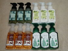 BATH & BODY WORKS GENTLE FOAMING SOAP SETS OF 3 BRAND NEW *CHOOSE* HOLIDAY &MORE