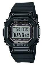 New Casio G-Shock Black PVD Steel Resin Strap Watch GMWB5000G-1